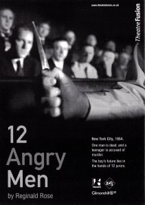12 ANGRY MEN FLYER